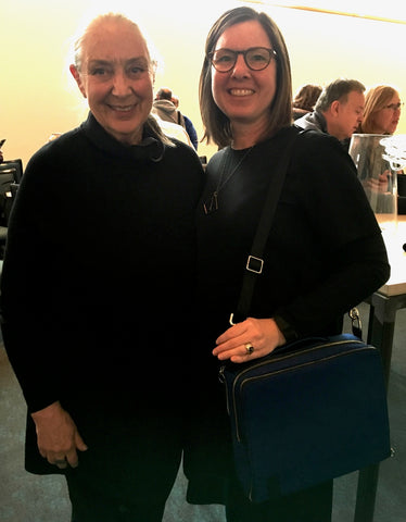 DeAnn, äventyr Owner, with Ingegerd Råman at The American Swedish Institute