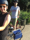 DeAnn & Kurt, Owners of äventyr, out on a bike date/product test ride