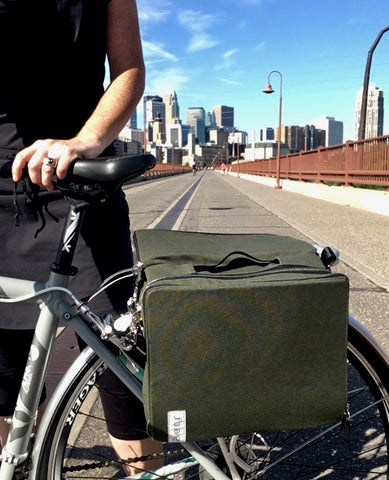 äventyr The Social headed to Bike to The Market Day at Mill City Farmer's Market