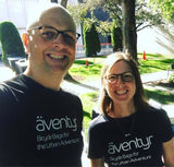 DeAnn & Kurt, Owners of äventyr, Minneapolis Institute of Art Bike Night 2018.  Out meeting people talking about cycling!