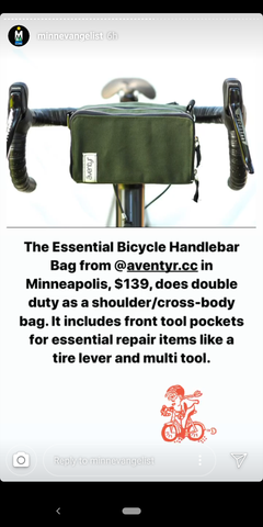 äventyr lifestyle bicycle bags featured by Minnevangelist