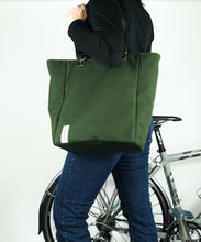 äventyr bicycle bags Around Town Tote olive
