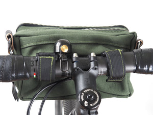 äventyr The Essential Handlebar Bag:  Olive