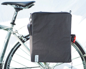 äventyr The Side Hustle Laptop Bicycle Pannier Bag, Briquette
