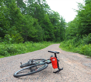 äventyr bicycle bags Gräventyr Gravel Bar Bag: Orange in  äventyr bicycle bags Gräventyr Gravel Bar Bag: Orange in Chequamegon-Nicolet National Forest