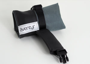 äventyr The Seat Rollio Underseat Bicycle Tool Roll Bag; Smoke