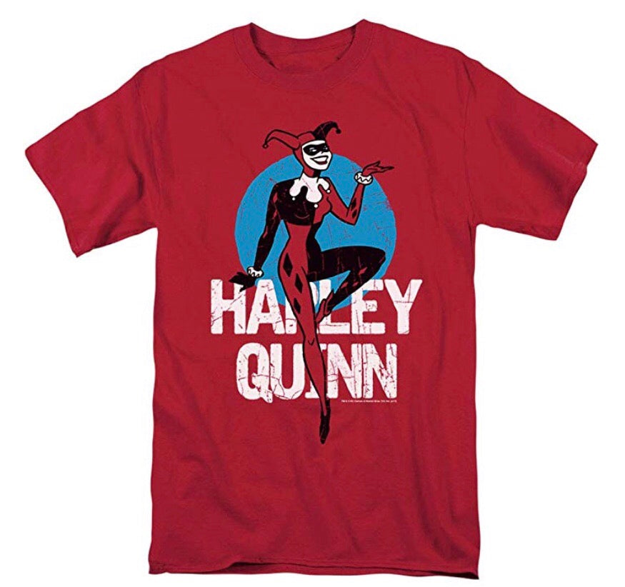 Batman: Harley Quinn T Shirt & Free Stickers