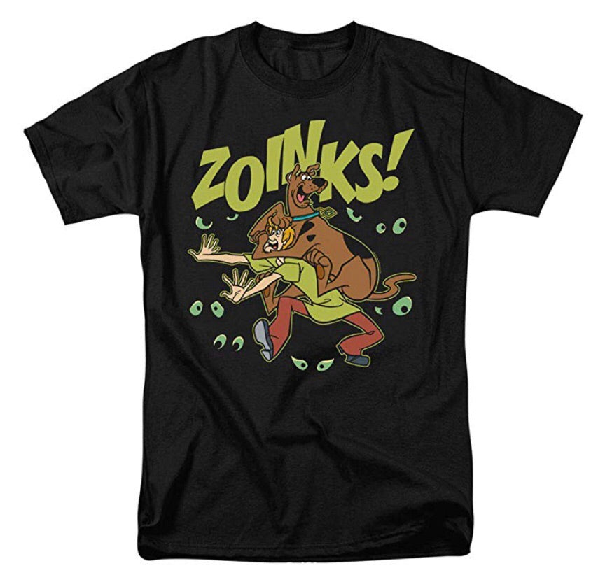 Scooby-Doo and Shaggy Zoinks! T Shirt & Stickers