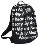 "SUPREME X NORTH FACE BACKPACK ""BY ANY MEANS NECESSARY"""