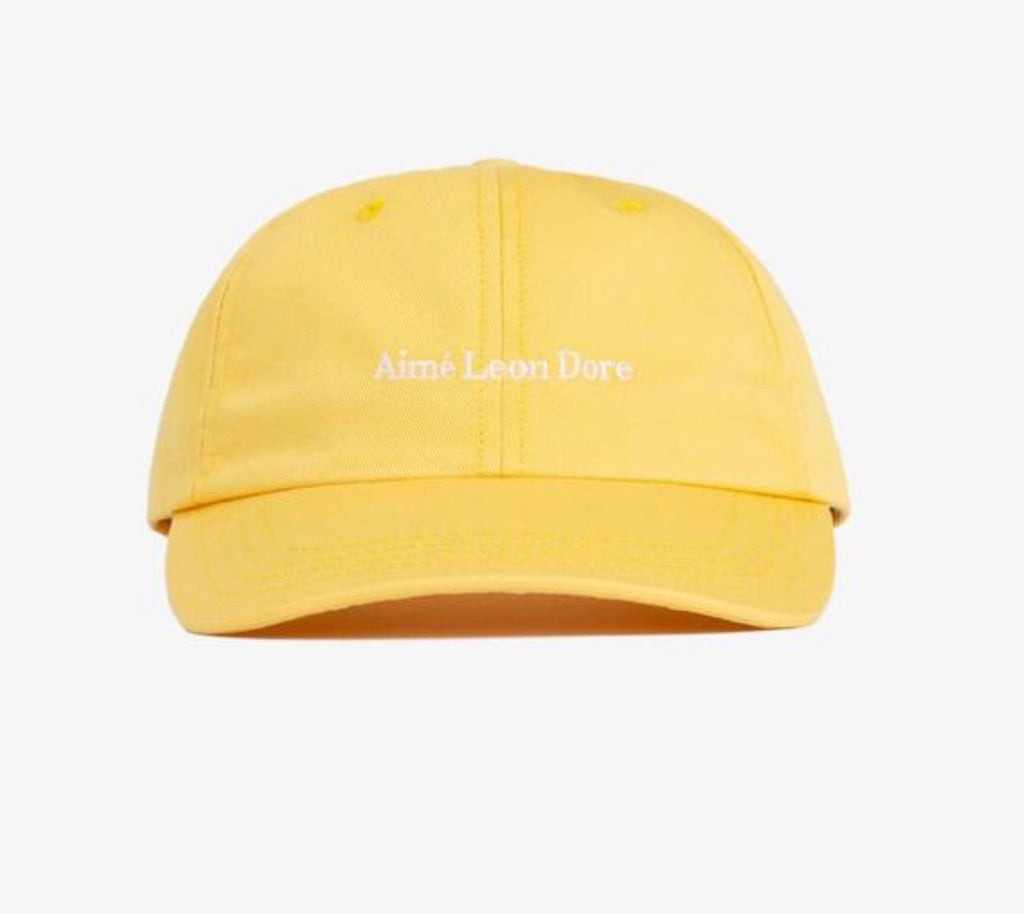 "AIME LEON DORE DAD HAT ""YELLOW"""