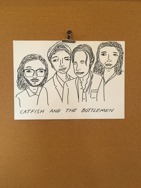 Badly Drawn Catfish & The Bottlemen Poster