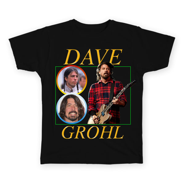 Dave Grohl - Nirvana / Foo Fighters - Indie Legends Series - Unisex T-Shirt