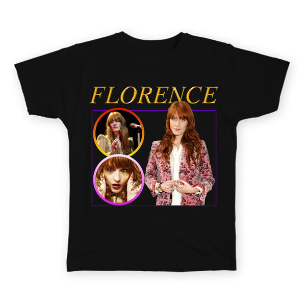 Florence - Florence & The Machine - Indie Legends Series - Unisex T-Shirt