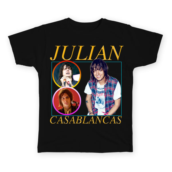 Julian Casablancas - The Strokes - Indie Legends Series - Unisex T-Shirt