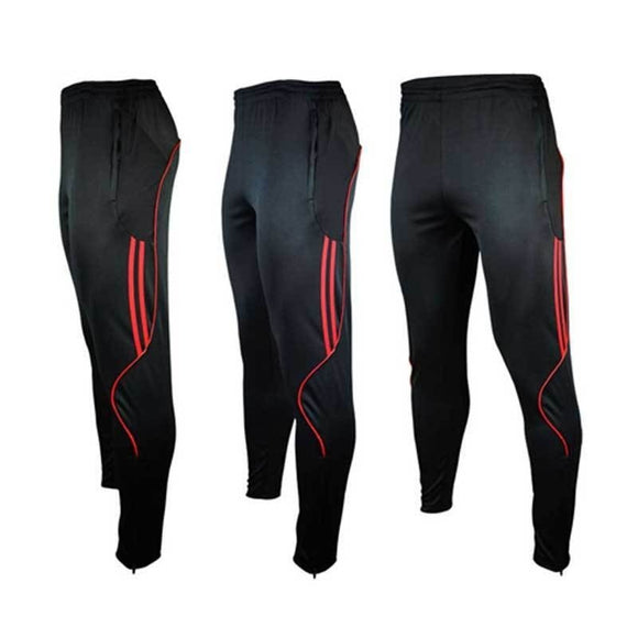 Men's Soccer Basketball Running Sweat Pants Athletic Trousers