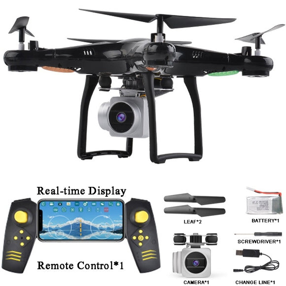 RC Drone X5S-6 FPV RC Quadcopter Drone with Camera 2.4G 6-Axis RC Helicopter Drones With 2.0MP HD WIFI Camera