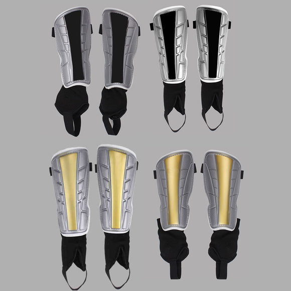 Adult Ultra Light Football Shin Pads Soccer Guards Sports Leg Protector 2PCS