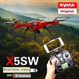 100% Original Syma X5sw Quadcopter Drone With Camera RC Helicopter Professional Drones RC Helicopter With Camera Drone Helicopte