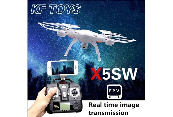 Drones Quadcopter With Mobile Phone Wi-Fi Control FPV HD 2.0MP Camera 360-degree 3D Rolling Mode 2 RTF RC Quadcopter