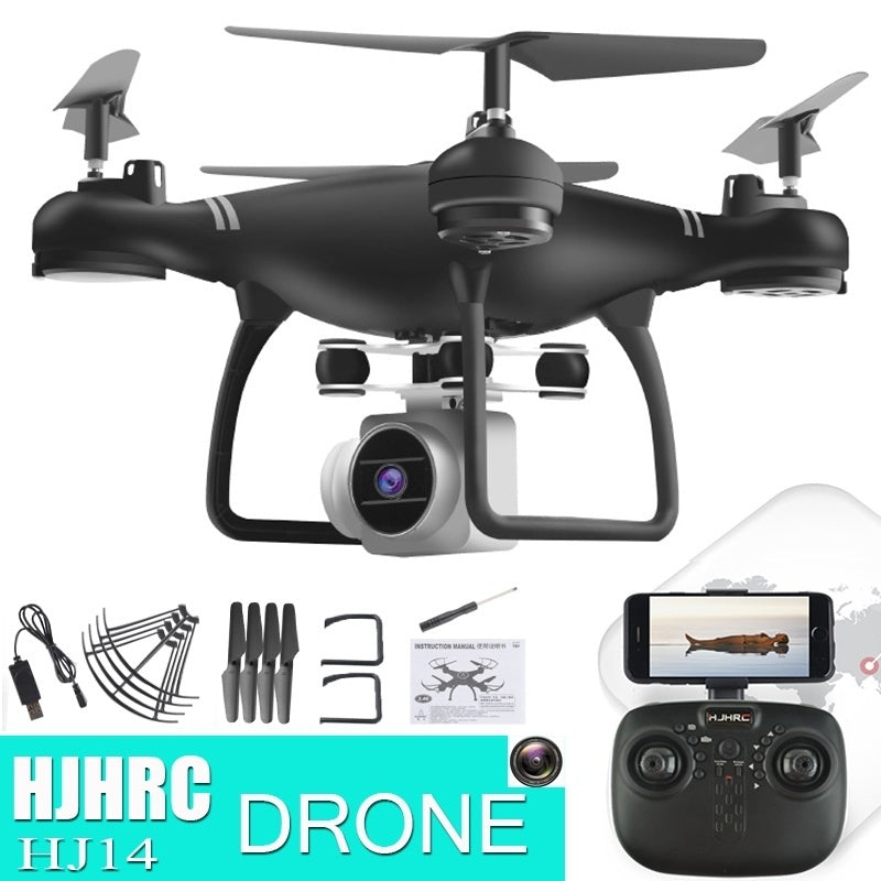 Drone with Camera RC Drone FPV RC Quadcopter 2 4G 6-Axis RC Helicopter  Drones With 2 0MP HD WIFI Camera