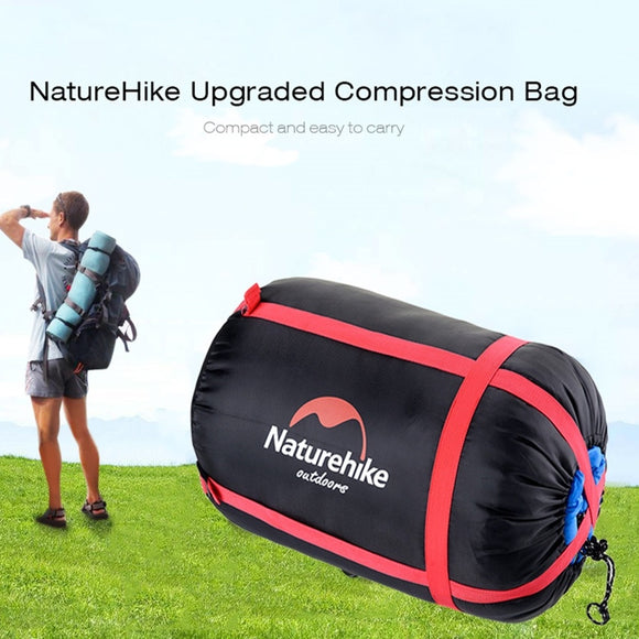 Outdoor Camping Sleeping Bag Compression Pack (The sleeping bag is not included)