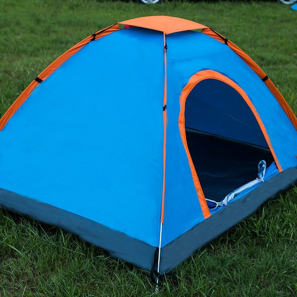 Jamickiki Outdoor Camping Tent 2 Seconds Open Account Rainproof Camping Tent