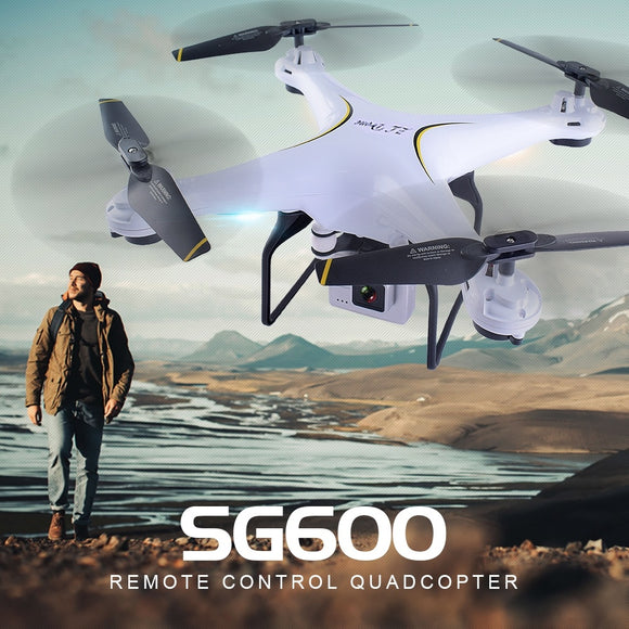 SG600 2.4G FPV RC Drone WIFI Headless with 0.3MP or 2MP Camera Altitude Hold RC Drone Helicopter with Camera