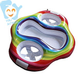 Twin Baby Double Swim Float Seat Water Fun Toys Pool Floats