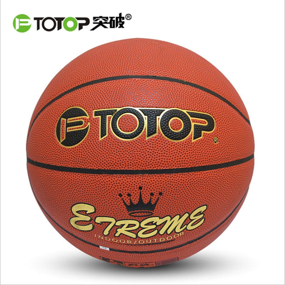 Leather Basketball Official Size 7 Indoor Outdoor Men Women Wear-resistant Basketball Ball Equipment