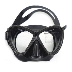 Adult Ergonomic Design Silicone Diving Goggles Mask