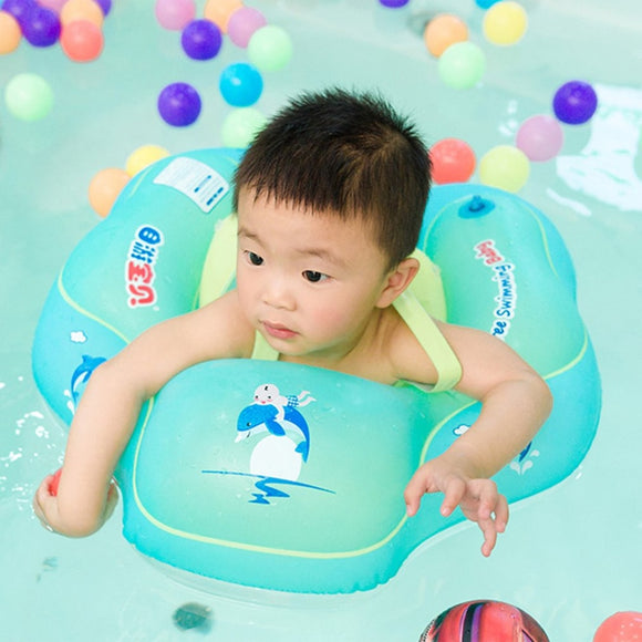 Free Swimming Baby Inflatable Swim Ring Infant