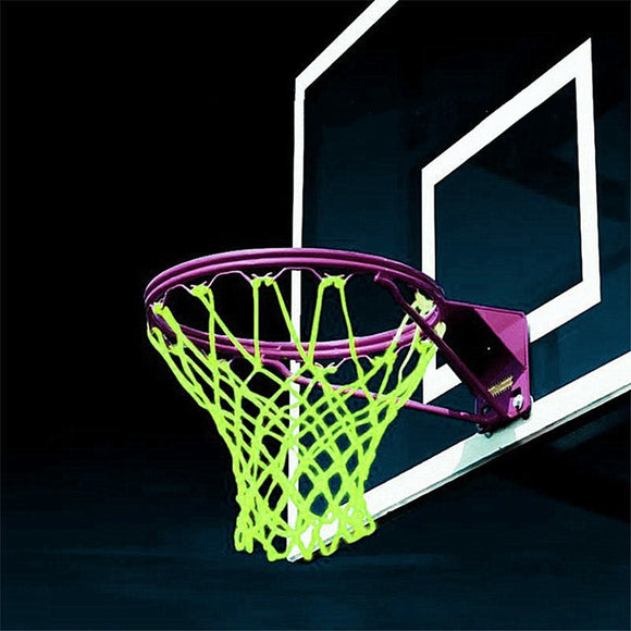 Glow In The Dark Sports Basketball Net Light Powered Sun Game Standard Size