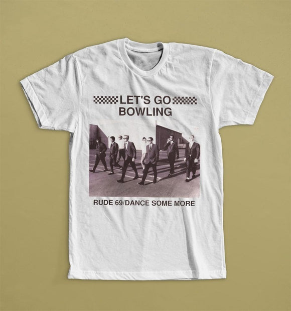 Interesting Pictures Men'S Short Sleeve Summer O-Neck Let'S Go Bowlinger Rude 69/Dance Some More  Tee Shirt