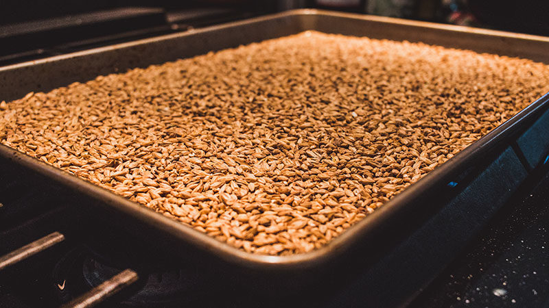 Try roasting your own grains at home