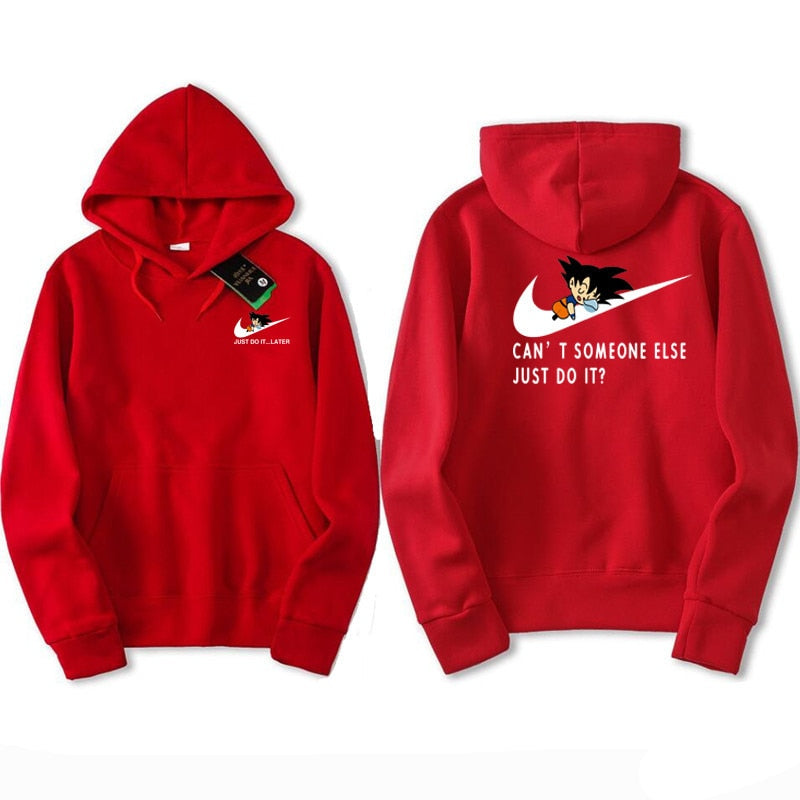 Dragon ball just do it hoodie