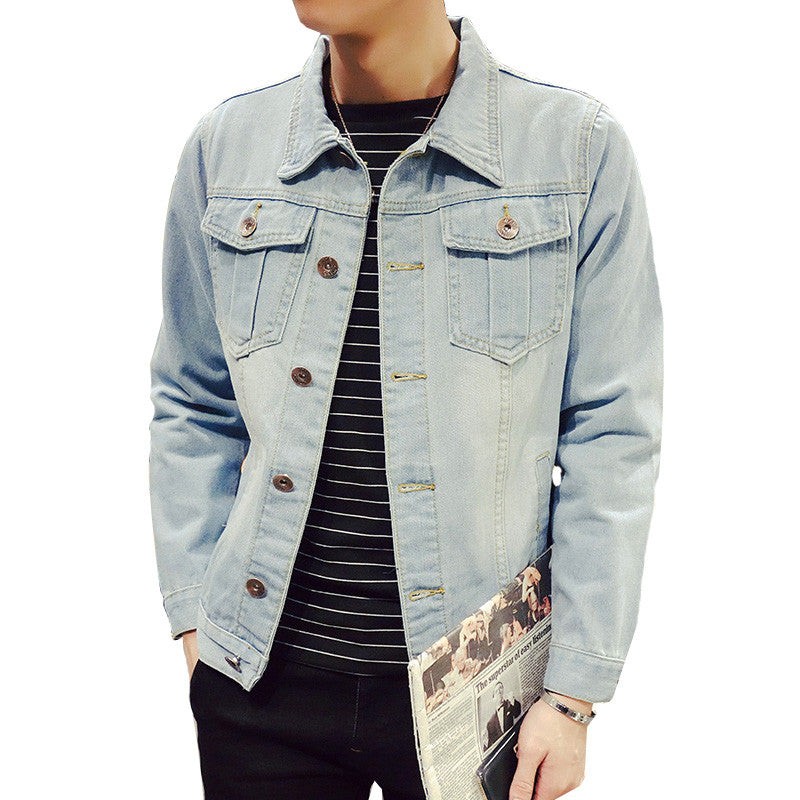 Men's Denim Jean Jacket