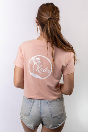 Load image into Gallery viewer, Kaiko Cropped Tee – Pink