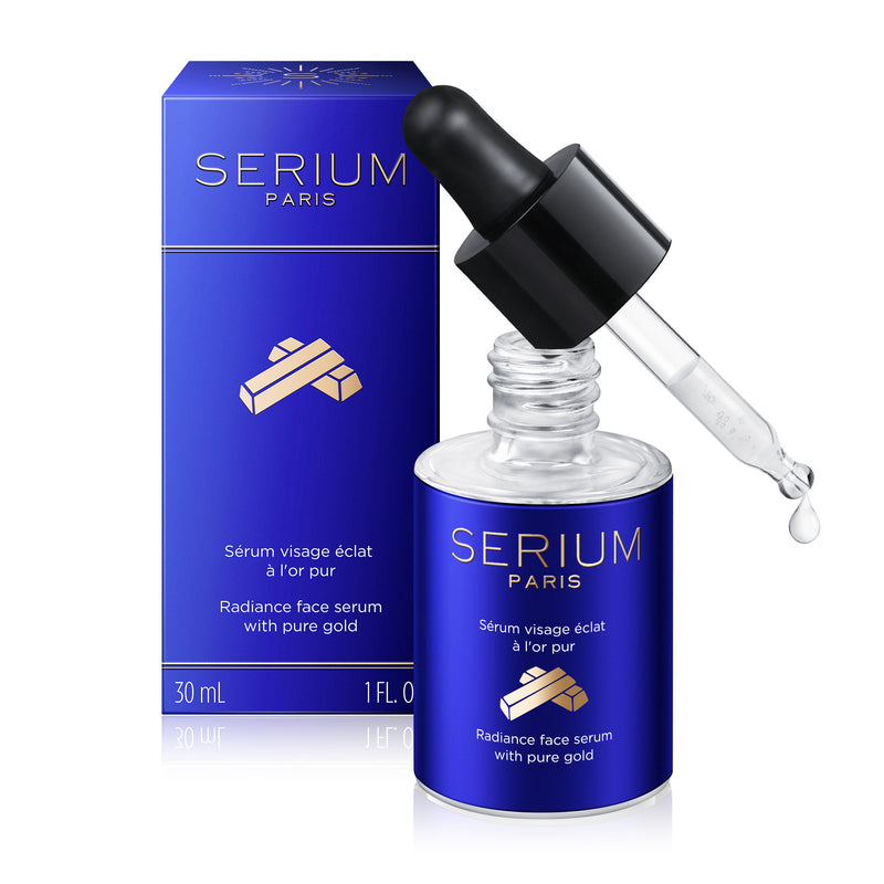 Sérum visage éclat à l'or pur - 30 ml
