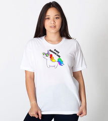 Crazy Unicorn Lady T-shirt