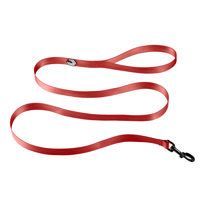 Peak Dog Leash - Ruby Red