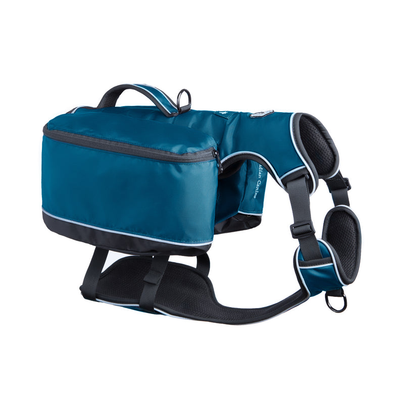 Traverse Dog Backpack - Arctic Blue