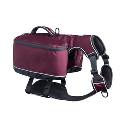 Traverse Dog Backpack - Plum