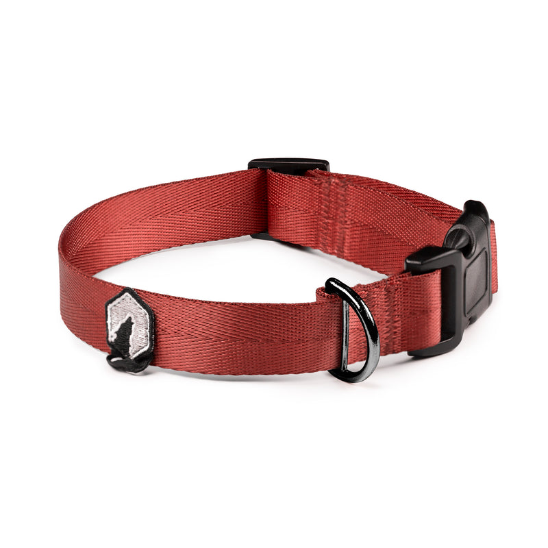 Breaker Dog Collar - Ruby Red