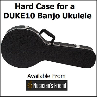 Hard Case for a DUKE10 Banjolele