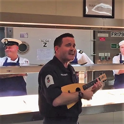 Does The Royal Navy Need A Ukulele Player?