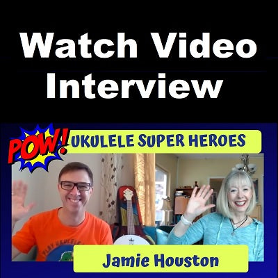 Jamie Interviewed by The Ukulele Fool