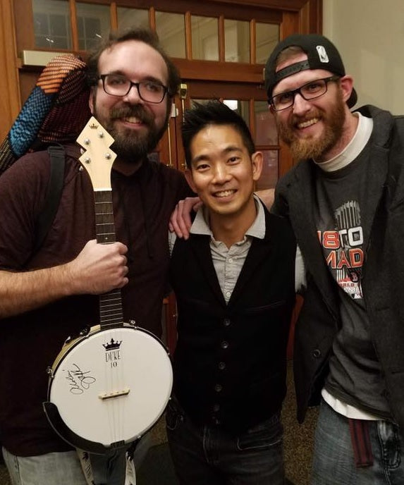 Jake Goldstein, Jake Shimabukuro and a DUKE10