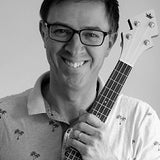 Jamie Houston - owner of DUKE Banjo Ukuleles