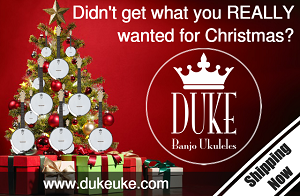 Didn't get what you really wanted - DUKE10 Banjolele
