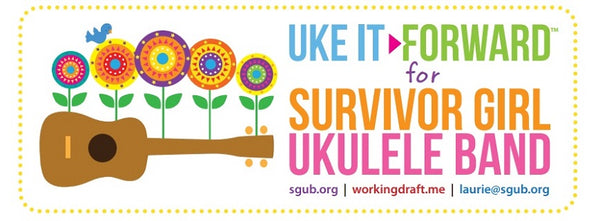survivor girl ukulele band project banner